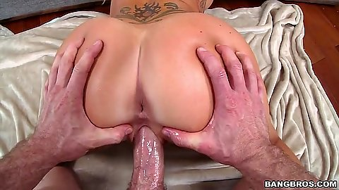 Ass spreading for rear entry doggy pump on Destiny Dixon