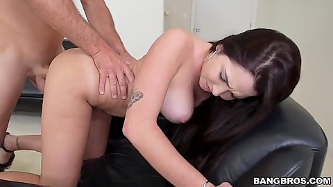 Naked latina rear entry during her nympho audition session Karlee Grey