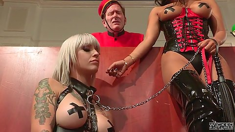 Naughty hotel fetish with lesbian girls going nuts Kleio Valentien and Asa Akira