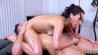 69 with latina in oil and reverse cowgirl entry Vicki Chase