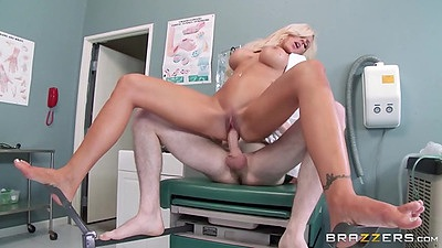 Patient enjoys banging his naughty doctors right in the exam room Nina Elle