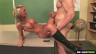 Classroom college bang with big boobs slim Mckenzee Miles