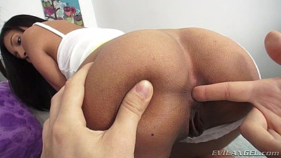 Ass fingering a juicy honey Jade Jantzen