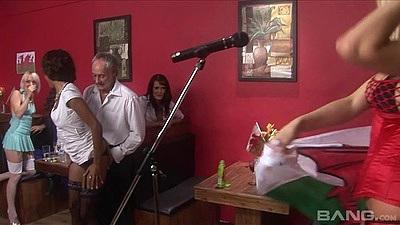 Turned on lingerie party fuck with horny Kiesha Kane and Antonia Deona