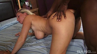 Black cock white milf penetration with sex loving Devon Lee