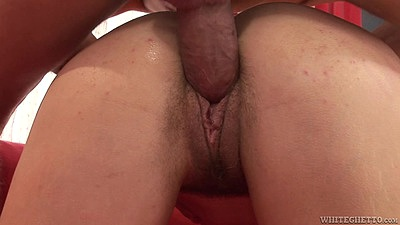 Close up pussy boinking with hairy college slut Michelle