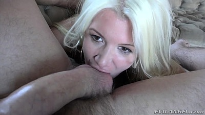 Kinky big dick pov ball sucking and making out with natural chest Layla Price