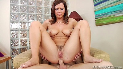 Reverse cowgirl and doggy style anal poking with Keisha Grey