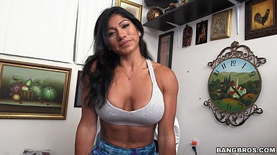 Big tits audition fully clothed Xo Rivera looking sporty