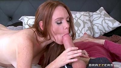 Cock craving redhead wife Kassondra Raine needs strangers cock inside her
