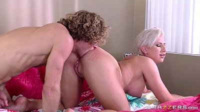 Ass licking and titty fuck with Dylan Phoenix