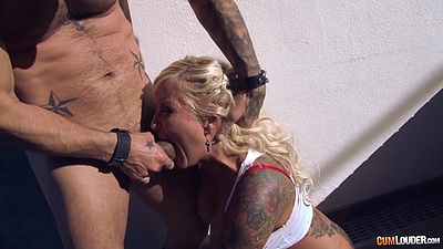 Jarushka Ross getting dick shoved down her throat