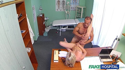 Petite girl fucked by doctor on hidden cam