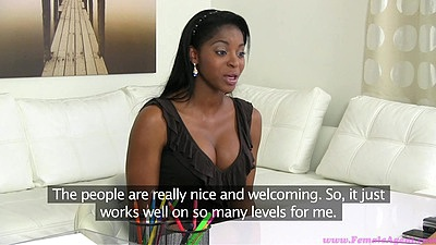 Ebony Jasmine W and Tracy coming in for a female audition