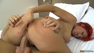 Suhaila Hard is fingering her own asshole during cowgirl fuck