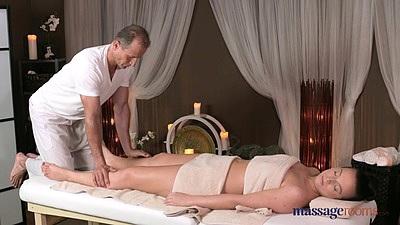 Restless massage girl wants more Natalie