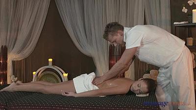 Intimate massage with Radek and Angella