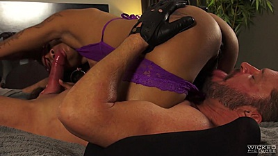 69 and pussy sex with lingerie September Reign