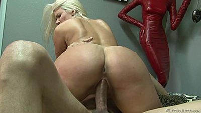 Alluring cowgirl blonde pounding with busty Layla Price