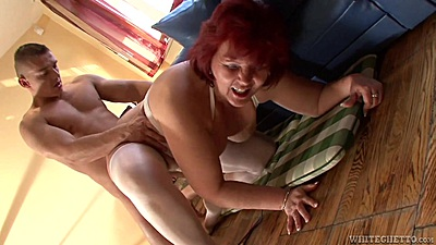 Lingerie granny coitus from Kati C