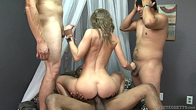 Confident college dick riding with Norah Nova