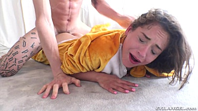 Young chick Ziggy Star rough sex in manhandled plowing