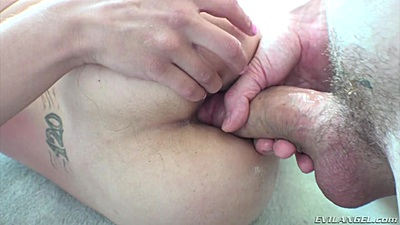 Close up anal insertion of dick into manhandled young girl Ziggy Star