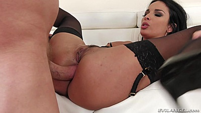 Spread legs wide open for anal frontal Anissa Kate