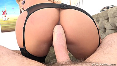Dirty talking Phoenix Marie pov large cock in her ass fuck