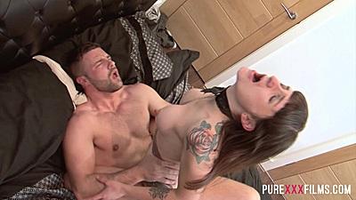 Stepslut fucking with inked whore Adreena Winters
