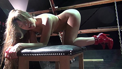 fetish fuck with ass spreading girl Taissa Shanti from behind