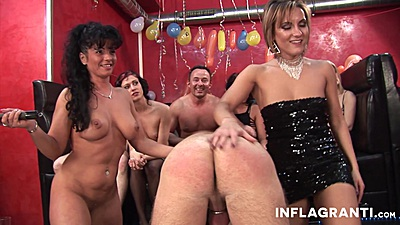 Filthy swingers party with gonzo milfs