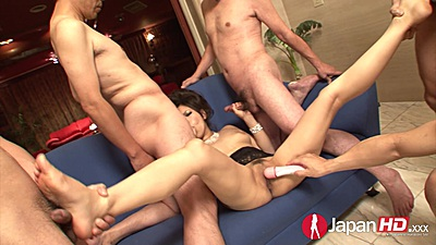 Orgasm time with asian female Kanade Otowa and cum on face