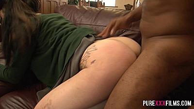 Interracial stepsister fuck with private school girl Alessa Savage