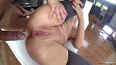 Anna Polina ass got stretched and ready for dick