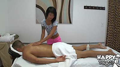 Cfnm hidden camera asian massage with Saya Song