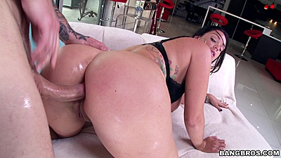 Big ass Alison Tyler fucked from behind