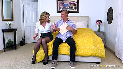 Cory Chase is playing an aprils fool slut