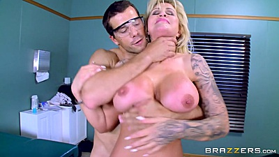 Clinical milf fuck and some anal with Ryan Conner