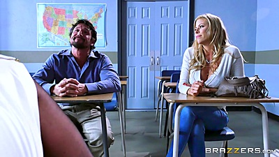 Classroom lessons with Alexis Fawx and Brooklyn Chase
