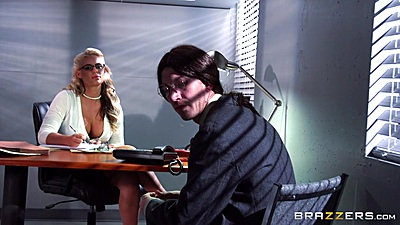 Office stripping and seducing with Phoenix Marie