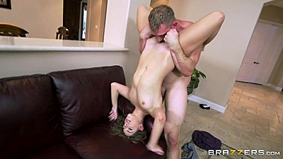 Eating skinny girl pee hole with frontal sex for Kimmy Granger