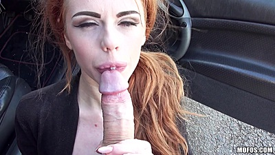 Ella Hughes got stranded outdoors so we picked her up