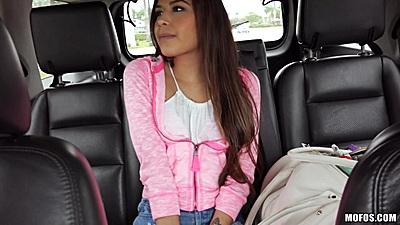 Lost girl backseat sitting Zaya Cassidy getting home