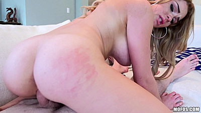 Pov reverse cowgirl pussy on top of dick with freckled Skyla Novea