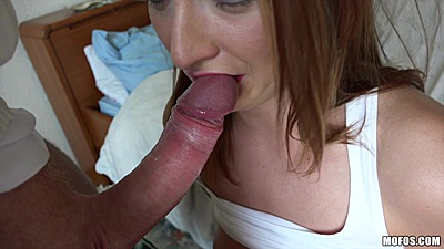Cock sucking Eva Berger after pick up on street