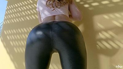 Tight pants with nice butt Sabrina Cyns