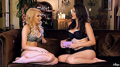Bras and panties private interview with Penelope Lynn