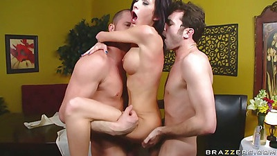 Double penetration fuck one in cunt and one in ass