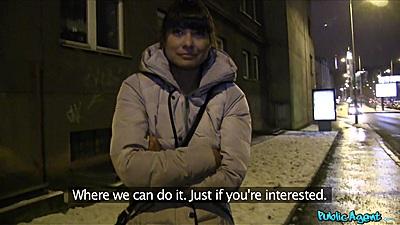 Hot Czech girl Tera Joy picked up on street at night